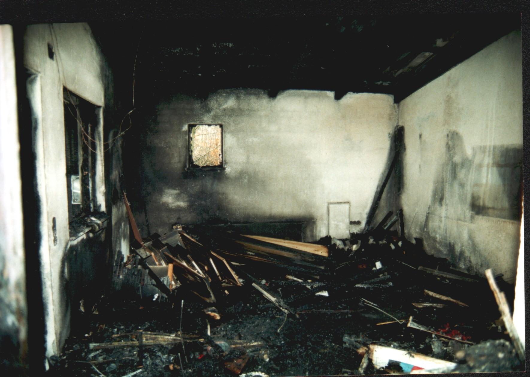 Brand im Vereinsheim